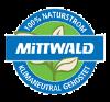 Klimaneutrales Hosting Logo von Mittwald